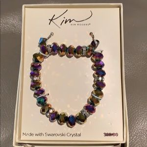 Kim Rogers bracelet and matching earrings